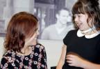 Princess Eugenie meets Ellie Cockburn